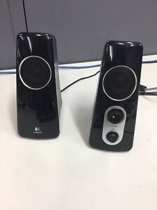 Computer speakers and sub Logitech Bow Bowing Campbelltown Area Preview