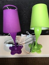 Colorful bedside lamps Karrinyup Stirling Area Preview