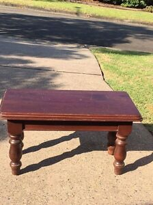 Solid Coffee Table Cherrybrook Hornsby Area Preview