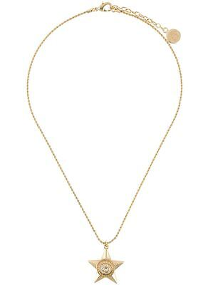 Versace Medusa  SS16 Star Pendant Necklace, Gold Tone
