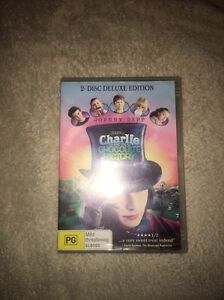 Charlie and the chocolate factory DVD Varsity Lakes Gold Coast South Preview