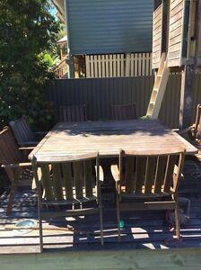 Hardwood Outdoor Setting Corinda Brisbane South West Preview