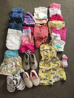 Girls size 1 summer clothes