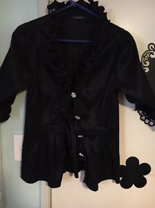 CHELSEA, FORMAL RUFFLE TOP - RRP $159!!Stretch sz10 Endeavour Hills Casey Area Preview