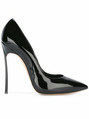 CASADEI Damen Pumps Casadei 8592 Blade Patent Stiletto Pumps Lackleder Patent Stiletto Pump