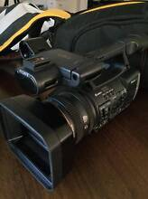 SONY HDR-AX2000 + Safari R1100 Tripod + Kata Compact Case Clayfield Brisbane North East Preview