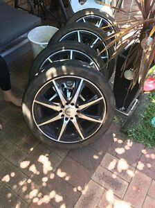 """17"""" rims  came off a Holden Astra (universal rims by the looks) Greenfields Mandurah Area Preview"""