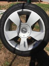 Holden Commodore 17 inch rims with tyres Henley Beach Charles Sturt Area Preview