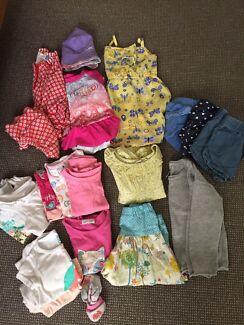 Size 1 girls summer bundle