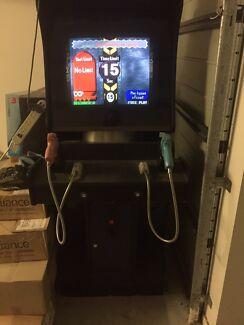 Retro gaming arcade machine , Point Blanc amusement game