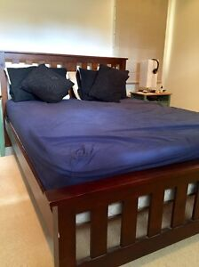 Wooden Bed and Mattress(Optional) Turramurra Ku-ring-gai Area Preview