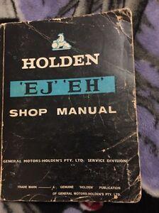 EJ EH Holden genuine GM workshop manual North Maclean Logan Area Preview