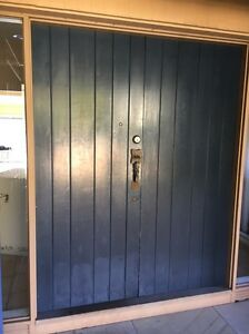 Solid double wooden front doors Mosman Mosman Area Preview