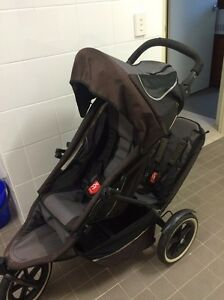 PHIL & teds baby double pram Hebersham Blacktown Area Preview
