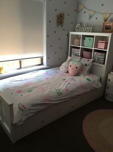 King size single kids bed with storage from Harvey Norman Morphett Vale Morphett Vale Area Preview