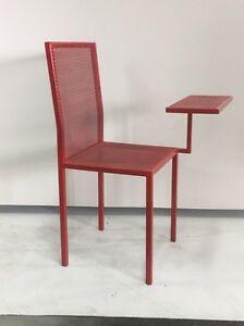 Red chair / desk Eden Hill Bassendean Area Preview