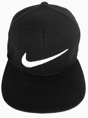 Adult Unisex Snapback Nike sign  Cap .black &white .Huge Sell . Free Delivery
