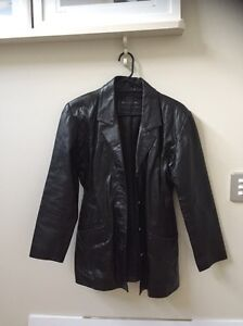 Leather jacket Yokine Stirling Area Preview