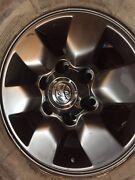 "Toyota hilux sr5 wheels 15"" 6 139.7 black genuine rims Waterford Logan Area Preview"