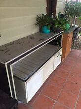 Outside work bench and storage unit Bulimba Brisbane South East Preview