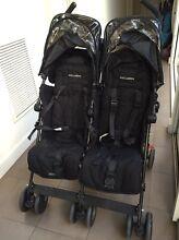 Maclaren Twin Techno stroller Northcote Darebin Area Preview