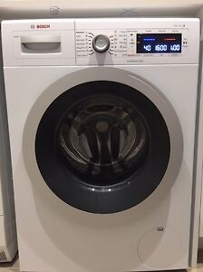 Near New Bosch 8.5kg Washing Machine extended warranty until 2022 Brighton East Bayside Area Preview