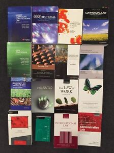 Law text books Wolli Creek Rockdale Area Preview