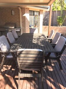 Outdoor furniture 8 seater. Excellent condition. Allambie Heights Manly Area Preview