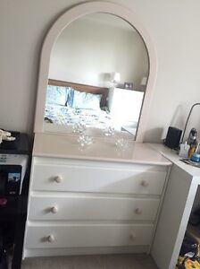 Dressing Table with Mirror with 2 matching Tallboys Meadowbank Ryde Area Preview