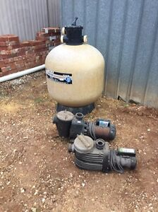 Pool pump and sand filter Torrensville West Torrens Area Preview