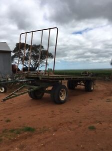 Hay trailer dog trailer Balaklava Wakefield Area Preview