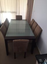 8 Seater Dining Table and Chairs Winston Hills Parramatta Area Preview
