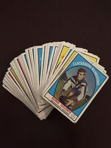 1968 Scanlan Rugby League Series One Trading Cards Cheltenham Hornsby Area Preview