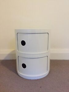Kartell White bedside table or sofa side table Woollahra Eastern Suburbs Preview