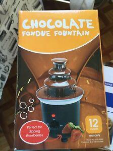 Chocolate Fondue Fountain Turramurra Ku-ring-gai Area Preview