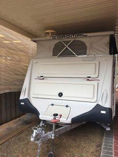Coromal convair 541 pop top caravan 2005 model with brand new annex