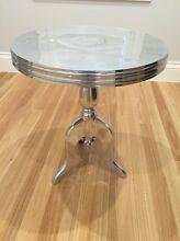 Metal Pedestal Side Table Burwood Burwood Area Preview