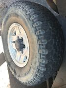 Genuine Alloy Sahara rims and tyres  Elrundie Palmerston Area Preview