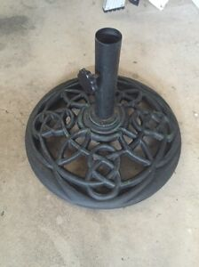 Marquee 15kg cast iron umbrella base Northgate Port Adelaide Area Preview
