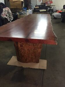 Red Gum Dining table Strathfield South Strathfield Area Preview
