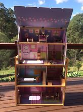Wooden Dollhouse and furniture Guanaba Gold Coast West Preview