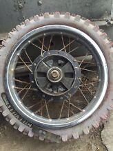Peewee 80 wheels n air filter box Blacktown Blacktown Area Preview