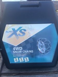AUTO XS 4WD SNOW CHAINS - NEVER USED Ourimbah Wyong Area Preview