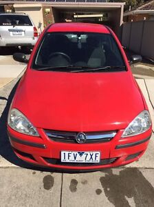 Holden Barina  2005 Rowville Knox Area Preview