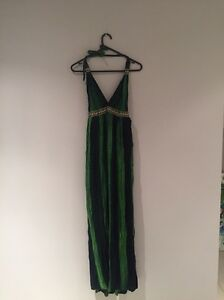 Green Bali long halter neck dress size 10? Kellyville Ridge Blacktown Area Preview