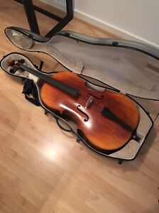 !REDUCED! Caiming-Guan Strad C 4/4 Cello w/case Adelaide CBD Adelaide City Preview