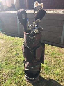 Wilson golf clubs + buggy Adelaide CBD Adelaide City Preview