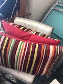 2 x long rectangle cushions