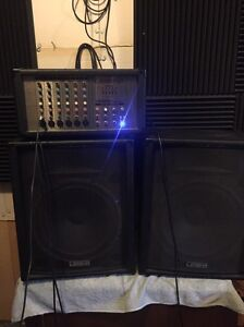 PA Speaker system for hire (great for parties or performance) North Melbourne Melbourne City Preview