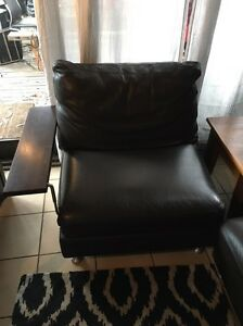 Genuine leather modula lounge Grose Vale Hawkesbury Area Preview